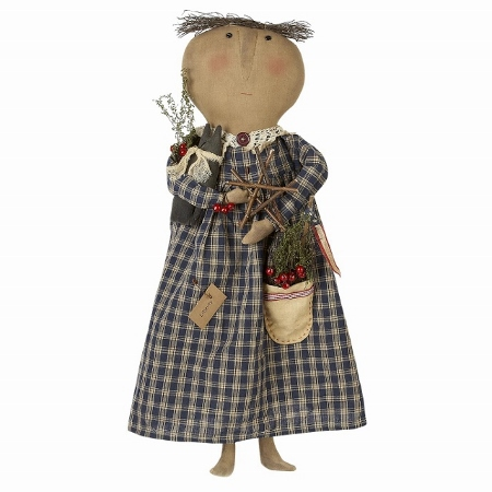 Patriotic Liberty Prim Home Decor Doll