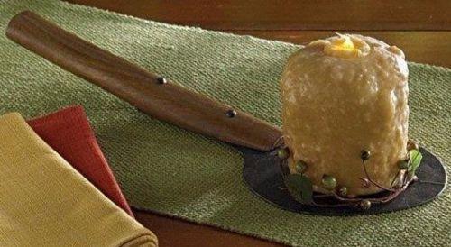Primitive Vintage Inspired Spatula Candle Holder