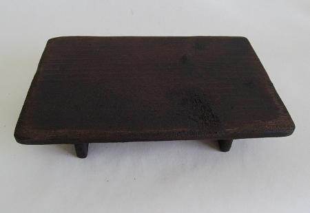 Primitive Wooden Rectangular Display Riser