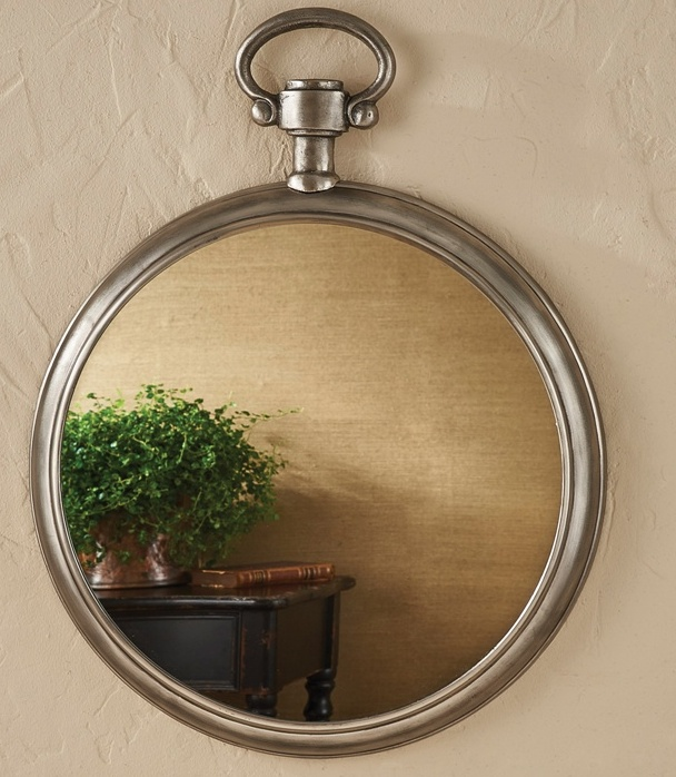 Large Pocket Watch Mirror
