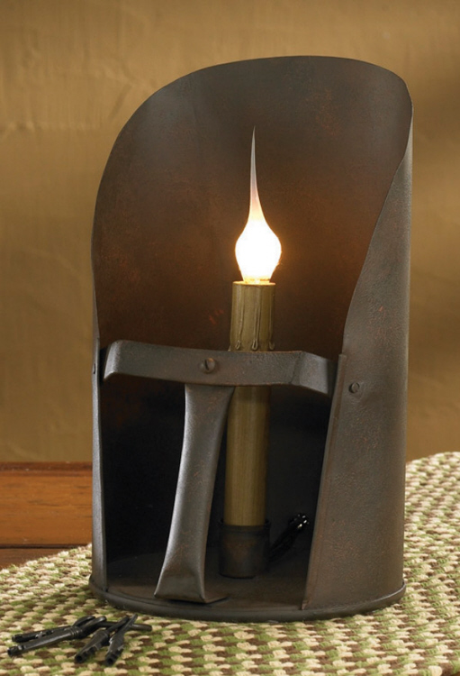 Vintage Inspired Grain Scoop Electric Candle Light