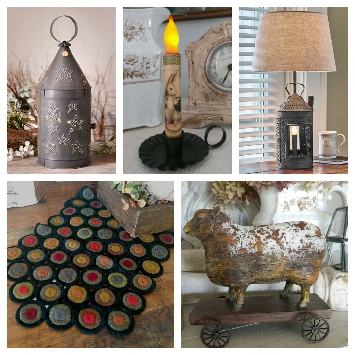 Primitive & Rustic Country Home Decor