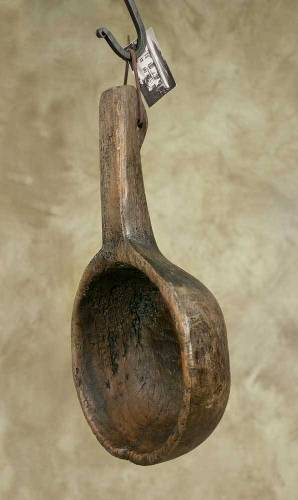 Primitive Country Reproduction Treenware - Big Dipper Scoop