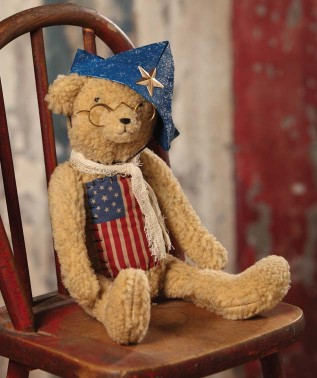 Patriotic Americana Teddy Bear
