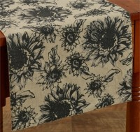 Farmhouse Cottage Sunflower Long Table Runner