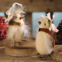 Vintage Style Spring Fancy Chicks