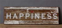 Rustic Farmhouse Style Happiness Heart Sign