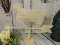 Farmhouse Metal Sheep Weathervane Home Decor Accent