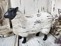 Rustic Ol' Sheep Home Decor Figure