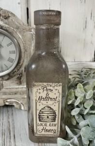 Local Honey Home Decor Bottle