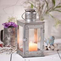 Farmhouse / Industrial Springhouse Square Lantern Candle Holder