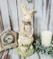 Large Girl Bunny - Vintage Inspired Easter /Spring  Home Decor