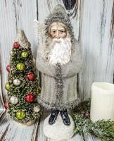 Old World Champagne Glitter Belsnickel Santa