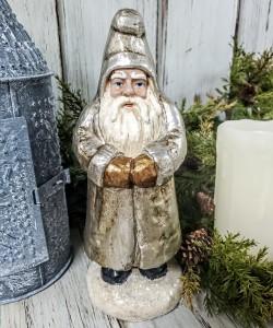Vintage Inspired Metallic Belsnickel - Old World Santa Christmas Figure