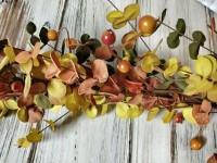 Rustic Autumn / Fall Bittersweet & Berry Garland