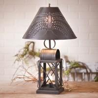 Keeping Room Punched Tin Shade Lamp